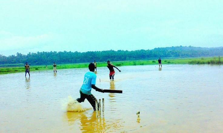 Junior cricket wet weather cancellation